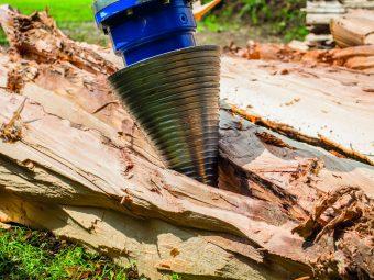 Despicator conic pentru lemn