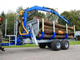 Remorcă forestiera Alpin telematic